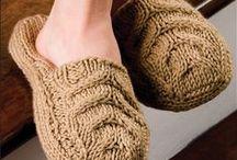 Knitting Slipper Pattern Downloads / Knitting Slipper Pattern Downloads