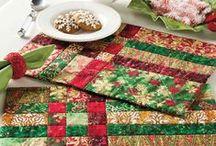 Quilt Christmas Kitchen Decor Pattern Downloads / Quilt Christmas Kitchen Decor Pattern Downloads / by e-PatternsCentral