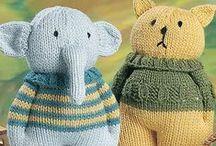 Knitting Stuffed Animal & Toy Pattern Downloads / Knitting Stuffed Animal & Toy Pattern Downloads / by e-PatternsCentral