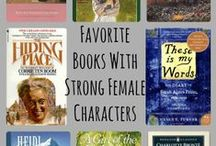 #readwomen2014 / Female authors and strong female characters.