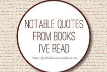 Quotes From Books / Quotes from books I've read.