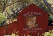 Myrtle Creek Botanical Gardens & Nursery / Sites at Myrtle Creek Botanical Gardens & Nursery