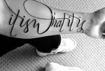 Love this tattoo lettering