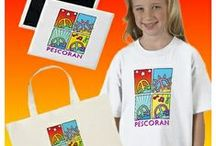 Art Shop: Pescoran Pop Peace Gifts / Featuring Art by John Pescoran