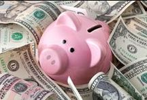 Money / Budget Tips for Green Living / How to save money. Budget tips and ways to save cash. Tips to stretch the budget when buying organics or eco-friendly products. How to afford organic.
