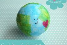 Earth Day / Earth Day crafts   Kid friendly crafts   Ways to celebrate Earth Day   Nature crafts   Love the Earth   Save the Environment