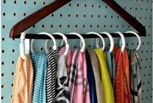 A Clean & Organized Home / Ideas and DIY tips for keeping your home clean and organized.