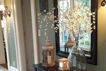 Home Decor Ideas / Ideas for updating, remodeling or refreshing your home.