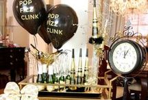 New Years / Decor to food ideas to ring in the new year in style!