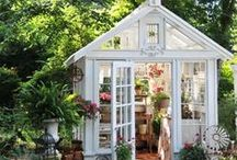She Sheds / Forget man caves. She Sheds are the hottest new trend for women to find a place to relax and call their own. Cute SheSheds that give you a space of your own. Creative ideas to carve out a room for yourself.