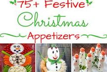 Christmas Party Ideas / Festive Food Ideas for your Holiday Parties.  Many of these appetizers can be served with a Savory Party Cracker.