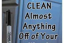 Household Cleaning Tips & Tricks / How to clean anything around the home.