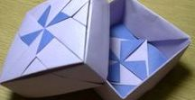 Origami Dobozok & Tálak