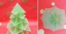Karácsonyi Origami