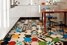 Purpura cement tiles: Patchwork in Action