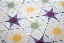 Purpura cement tiles: Concrete Beauty