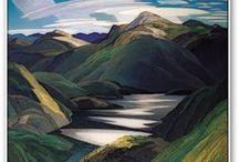 Lakes and rivers - Lacs et rivières
