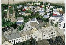 Towns & Cities - Villes et villages