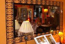 specchi di produzione marocchina / specchi realizzati a mano dai nostri artigiani marocchini