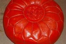 tassuti pouff kilim / prodotti realizzati a mano dai nostri artigiani marocchini