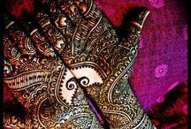 traditionnal mehendi / Idée pour Henna / mehendi design / by Ilhame Essaydi