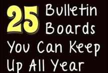 CLASSROOM BULLETIN BOARDS / Ideas that can be used to decorate bulletin boards / by Cheryl Keen