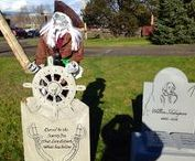 My 2014 Cemetery / We got a beautiful sunny day to start Halloween.