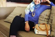 gew's style / classy is when a woman has everything to flaunt but choose not to show it..*hijab