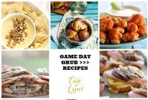 Game Day Recipes / All the best dishes for your tailgating Menu #SuperBowl #Football #GameDay