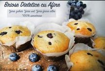 Briose si Cupcakes (fara zahar, fara gluten, 100% sănătoase)