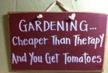 """Gardening Humor / On our farm we like to have a good time and we want you to have fun gardening too.  So, here's a little """"Gardening Humor"""" for your amusement!"""