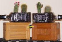 Κατασκευές Για Τον Κήπο D.I.Y. / Κασπώ Από Μπουκάλια