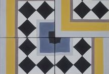 Purpura cement tiles: Magic Four / www.purpura.eu