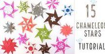 origami csillagok