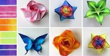 Origami tippek/technika