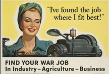 On the Job in WWII - Rosie and Friends.