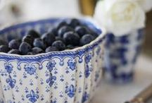 Blue & White Love