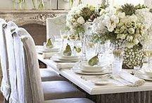 wokół stołu / naczynia,zastawa,obrusy,szkło