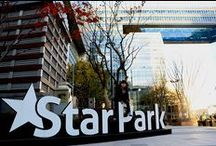 Star Park Seoul Korea / Star Park Korea is not only just the hub of the Asian film industry it is a WOW statment of what an ultra modern world looks like.