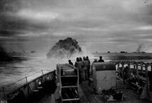 WWII Battle of the Atlantic / The battle at sea between the Allies and the Germans in WWII.