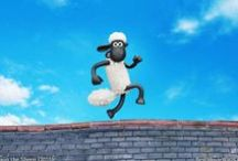 Shaun The Sheep Movie (2015) / Shaun the Sheep movie 2015 hd wallpapers with #Shaun, Timmy, The Flock and more characters :]