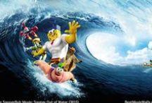 SpongeBob Squarepants Sponge Out of Water (2015) / SpongeBob Squarepants Sponge Out of Water wallpapers hd :]