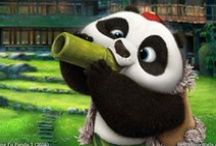 Kung Fu Panda 3 (2016) / Wallpapers HD from Kung Fu Panda 3 2016 movie with #Po and the other characters. #KFP3