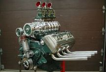 Motorheads and Knucklebusters Only / Hot engines, and fast cars for those who love a good wrench, and know how to use it