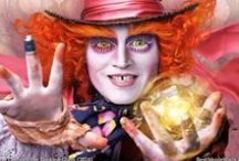 Alice Through The Looking Glass (2016) / wallpapers from Tim Burton's Alice through the looking glass