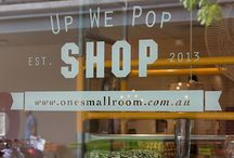 Pop Up Shop Ideas / Pop Up Shop