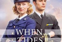 Novel: When Tides Turn / When Tides Turn by Sarah Sundin, book 3 in the Waves of Freedom series (Revell, March 14, 2017). A fun-loving glamour girl. A no-nonsense naval officer. Only a war could bring them together.