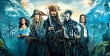 Pirates of the Carriebean (1 to 5) / Pirates of the Carriebean Salazar's Revenge Dead Men Tell No Tales wallpapers and POTC other series wallpapers