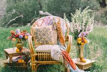 Boda bohemia - Boho wedding / Ideas para una boda bohemia. ¡No te puedes perder nada!