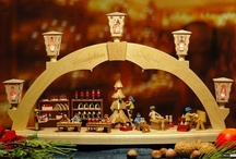 Candle Arches/Schwibbogen / Light arches illuminate the windows during christmas time not only in the Ore Mountains (Erzgebirge) but worldwide.   Check 'em out at http://www.erzgebirgepalace.com/Candle-Arches/All-Candle-Arches:::108_109.html